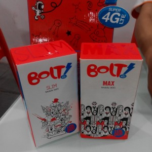 BOLT! Mobile WiFi SLIM dan BOLT! Mobile WiFi MAX
